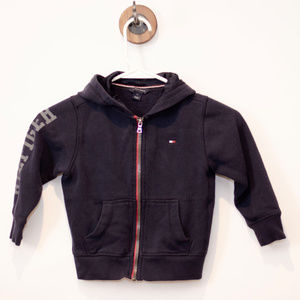 Tommy Hilfiger Navy Zip up Hoodie 3T
